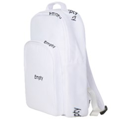 Color Abstract Drops Double Compartment Backpack