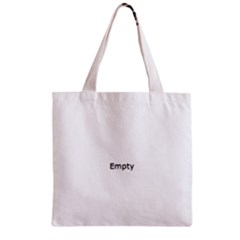 Feathers Pattern Zipper Grocery Tote Bag