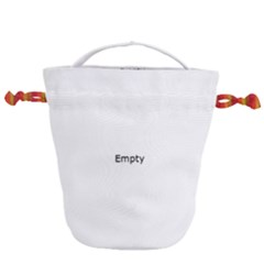 Application Icons Computer Drawstring Bucket Bag by Sapixe