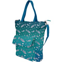 Under The Pea Paisley Pattern Shoulder Tote Bag