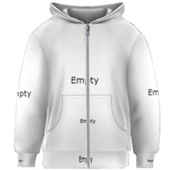 Water Drops On Silver Surface Kids Zipper Hoodie Without Drawstring