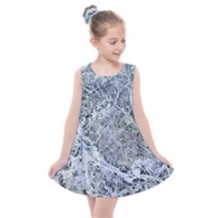 Marble Pattern Kids  Summer Dress