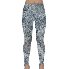 Marble Pattern Lightweight Velour Classic Yoga Leggings