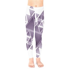 Geometry Triangle Abstract Kids  Legging