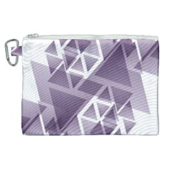 Geometry Triangle Abstract Canvas Cosmetic Bag (xl) by Alisyart