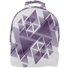 Geometry Triangle Abstract Mini Full Print Backpack by Alisyart
