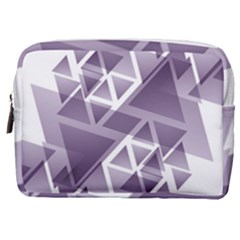 Geometry Triangle Abstract Make Up Pouch (medium)
