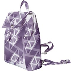 Geometry Triangle Abstract Buckle Everyday Backpack