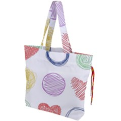 Geometry Euclidean Vector Drawstring Tote Bag