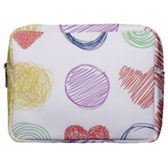 Geometry Euclidean Vector Make Up Pouch (large)