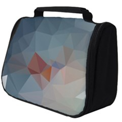 Triangle Geometry Trigonometry Full Print Travel Pouch (big) by Mariart
