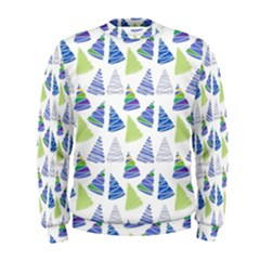 Christmas Pattern Background Men s Sweatshirt
