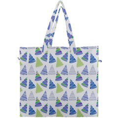 Christmas Pattern Background Canvas Travel Bag by Jojostore
