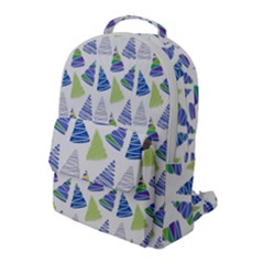 Christmas Pattern Background Flap Pocket Backpack (large) by Jojostore