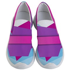 Geometric Shape Women s Lightweight Slip Ons by Jojostore