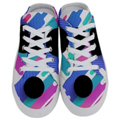 Cool Geometric Combination Of Decorative Circular Vector Background Half Slippers