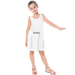 Pink Roses Kids  Sleeveless Dress