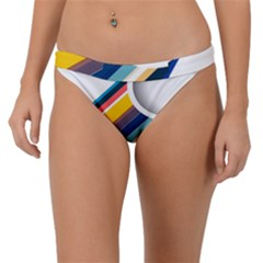 Vector Geometric Polygons And Circles Band Bikini Bottom