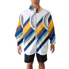 Vector Geometric Polygons And Circles Windbreaker (kids)