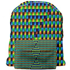 Kaleidoscope Art Unique Giant Full Print Backpack by AnjaniArt
