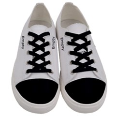 Christmas Wallpaper Background Men s Low Top Canvas Sneakers