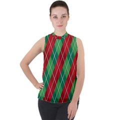 Christmas Triangle Sleeveless Top by AnjaniArt