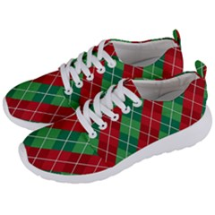 Christmas Triangle Men s Lightweight Sports Shoes by AnjaniArt