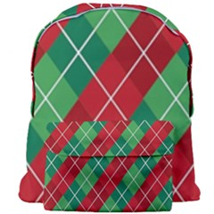 Christmas Triangle Giant Full Print Backpack by AnjaniArt
