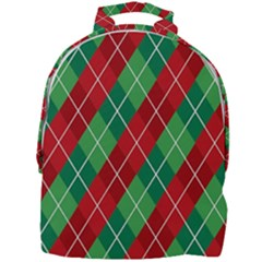 Christmas Triangle Mini Full Print Backpack by AnjaniArt