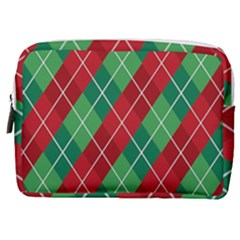 Christmas Triangle Make Up Pouch (medium)