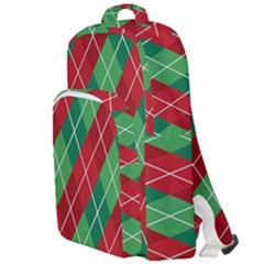 Christmas Triangle Double Compartment Backpack