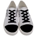 Bright Modern Interlace Pattern Men s Low Top Canvas Sneakers View1
