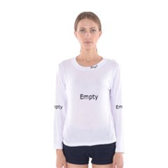 Radial Blur Estiq Spiral Women s Long Sleeve Tee