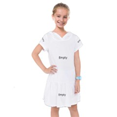 Radial Blur Estiq Spiral Kids  Drop Waist Dress