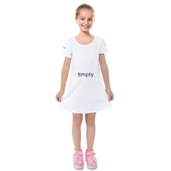 Radial Blur Estiq Spiral Kids  Short Sleeve Velvet Dress