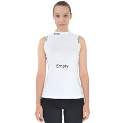 Radial Blur Estiq Spiral Mock Neck Shell Top