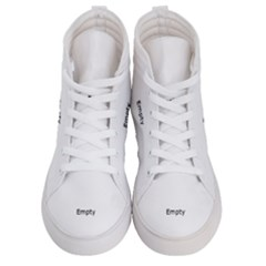 Radial Blur Estiq Spiral Men s Hi Top Skate Sneakers