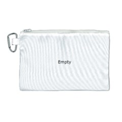 Radial Blur Estiq Spiral Canvas Cosmetic Bag (large)
