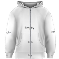 Radial Blur Estiq Spiral Kids Zipper Hoodie Without Drawstring