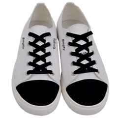 Pattern Of A Leaf Men s Low Top Canvas Sneakers