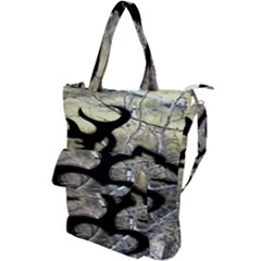 Black Love Browning Deer Camo Shoulder Tote Bag
