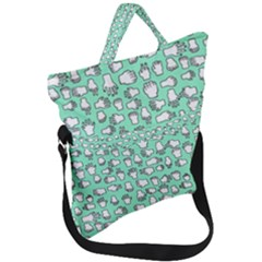 Hand Cute Fold Over Handle Tote Bag by Alisyart