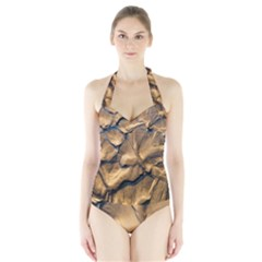 Mud Muddy Halter Swimsuit by Mariart