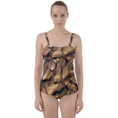 Mud Muddy Twist Front Tankini Set