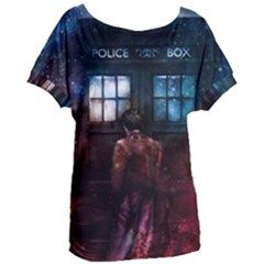 Doctor Who Tardis In Space Women s Oversized Tee