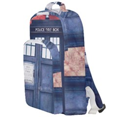 Doctor Who Tardis Double Compartment Backpack by Bejoart