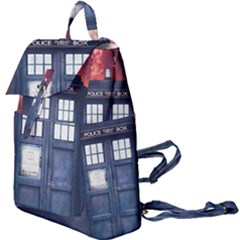 Doctor Who Tardis Buckle Everyday Backpack by Bejoart