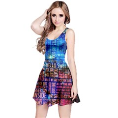 Doctor Who Quotes,trust Me Im Doctor Reversible Sleeveless Dress