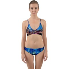 Doctor Who Quotes,trust Me Im Doctor Wrap Around Bikini Set