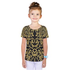 Hamsa Hand Kids  One Piece Tee